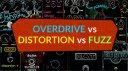 Overdrive Distortion Fuzz Effekt Pedale Teaser Liste