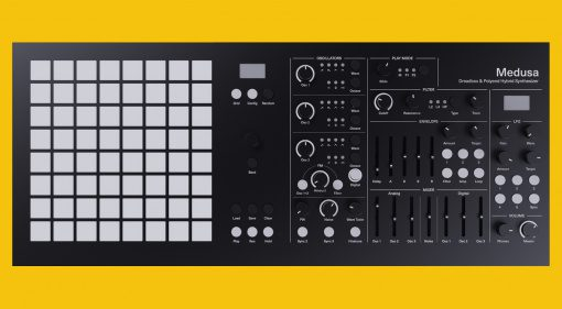 Polyend Dreadbox Medusa: V3 Firmware Update und Black Limited Edition