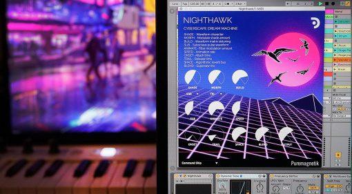 Puremagnetik Nighthawk: VST-Synthesizer im John Carpenter Style