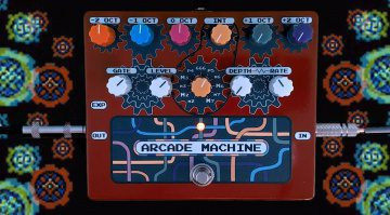 RPS Effects Arcade MAchine Analog Synthesizer Pedal Front