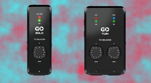 TC Helicon GO Solo GO Twin Interface 1