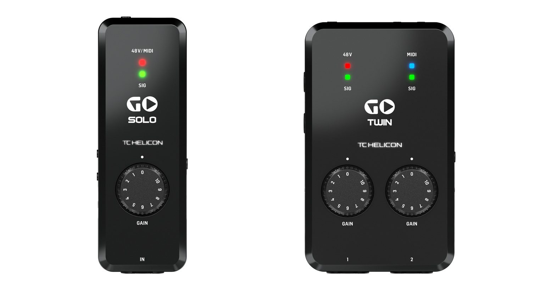 TC Helicon GO Solo GO Twin Interface