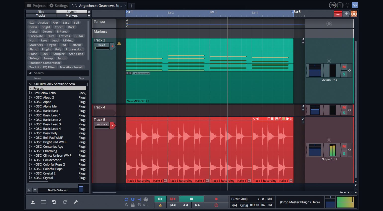 Tracktion Waveform 11 Free