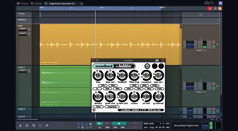 Tracktion Waveform 11 Free: Plug-in von Dritthersteller