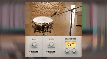 Freeware: Wavesfactory SnareBuzz 2.0 erweckt eure Snare zum Leben