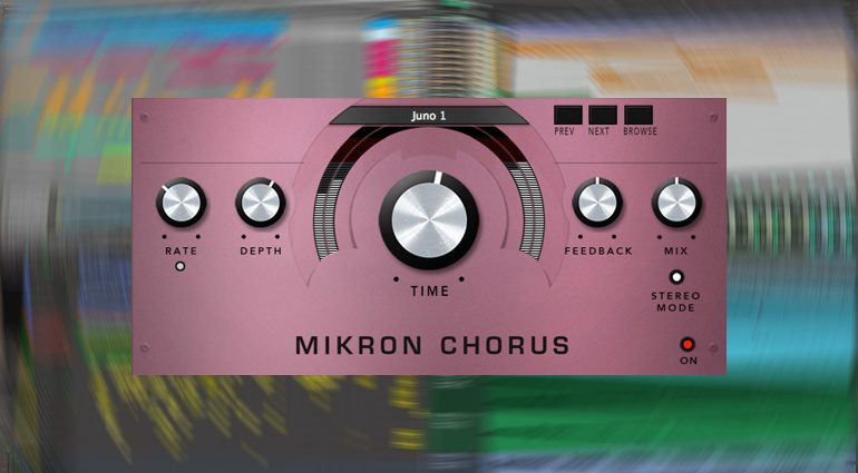 112dB Mikron Chorus: Roland Juno und Boss CE2 Chorus Plug-in