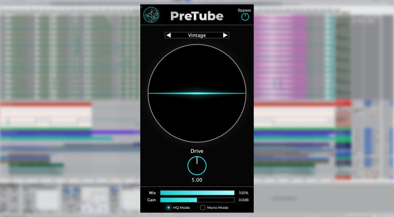 Accentize PreTube: Machine-Learning Preamp Emulation mit Röhre
