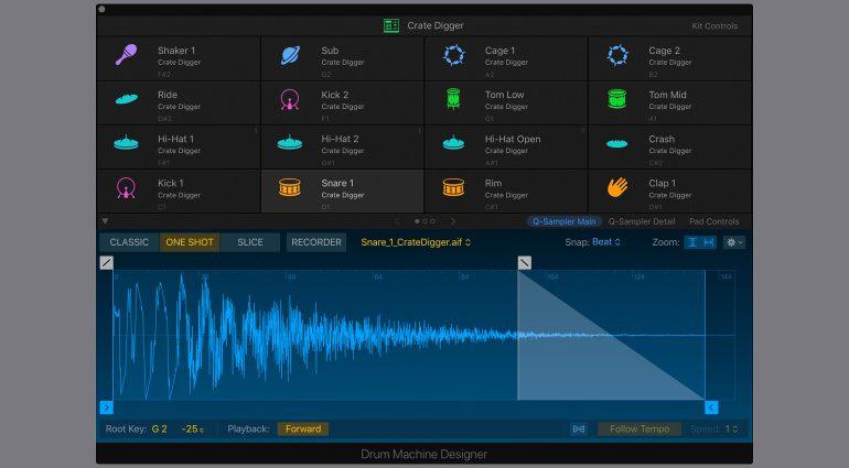 Apple Logic Pro X 10.5 Drum Machine Designer