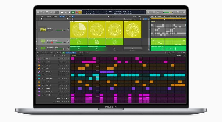 Apple Logic Pro X 10.5 Step Sequencer