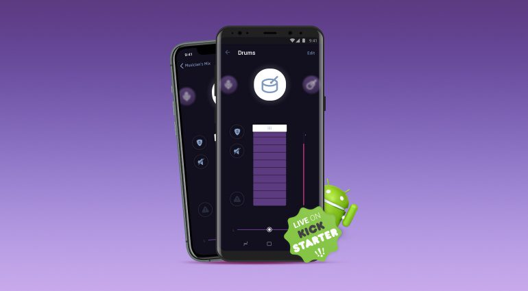 Audiofusion In-Ear-Monitoring für Android jetzt auf Kickstarter