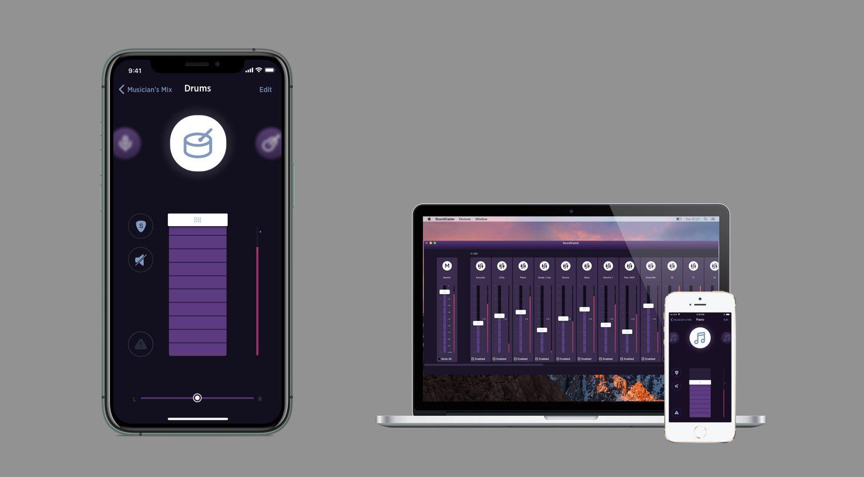 Performer App und SoundCaster