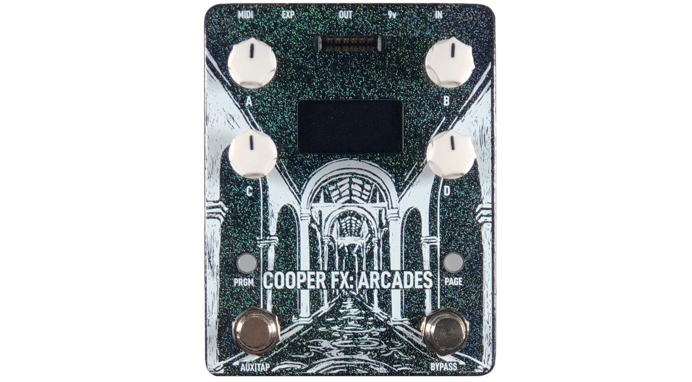 Cooper FX Ardaces Effekt Pedal Front 1