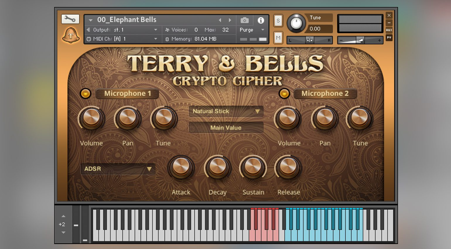 Crypto Cipher Terry & Bells