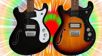 Danelectro 66-12 12-SAiter E-Gitarre