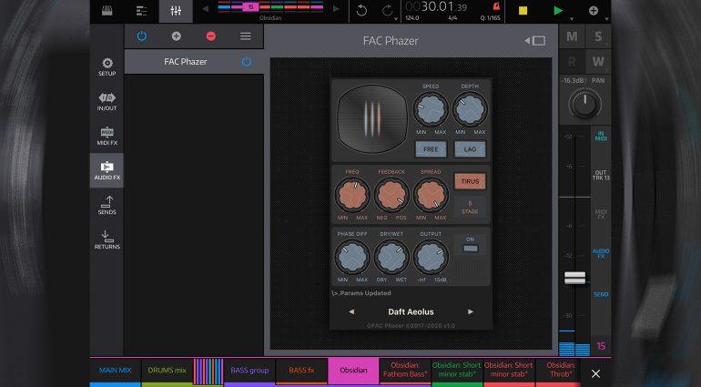 FAC Phazer - alle bekannte Phaser-Effekte in einer iOS App?
