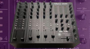 Formula Sound baut neuen Flaggschiff DJ-Mixer NN106 basierend auf dem modularen PM100
