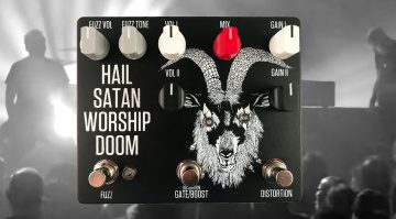 Fuzzrocious Blastripper Bongripper Effekt Pedal Hail Satan Worship Doom Front Teaser