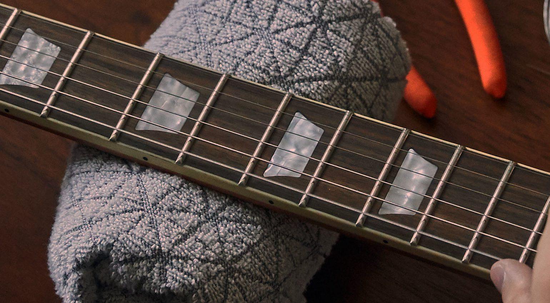 Gibson Virtual Guitar Tech Service Halseinstellung