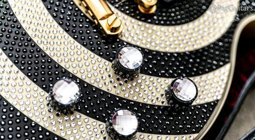 Gibson Zakk Wylde Les Paul Custom Signature Swarovski Gold 3