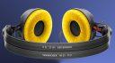 Sennheiser HD-25 plus extra Earpads in gelb für 99,- statt 149,-
