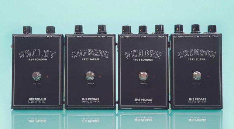 JHS Legends of Fuzz Smiley CRimson Supreme BEnder