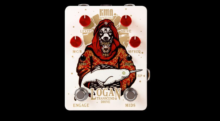 KMA Audio Machines Logan Desert Effekt Pedal