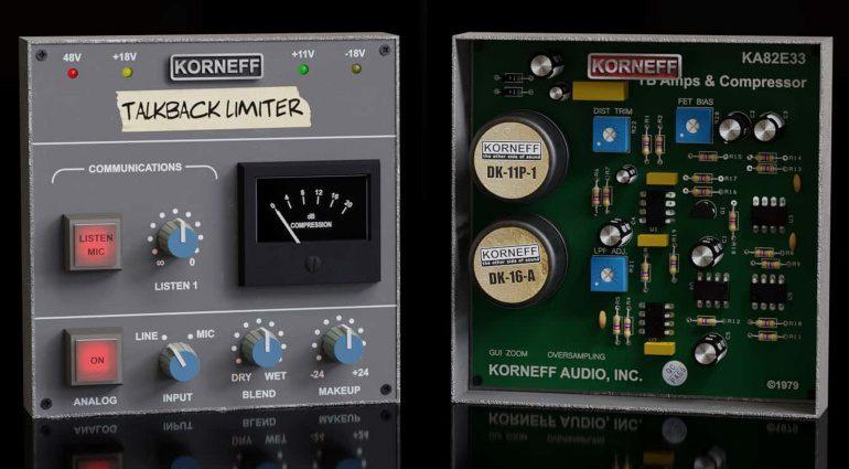 Korneff Audio Talkback Limiter: SL4000 E Limiter als Plug-in und mehr!