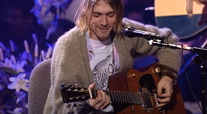 Kurt Cobain MTV Unplugged Martin D-18