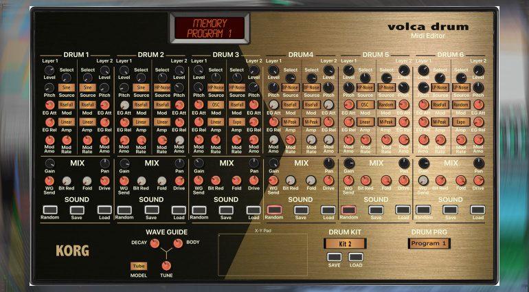Momo Müller veröffentlicht Volca Drum Editor als Plug-in Controller