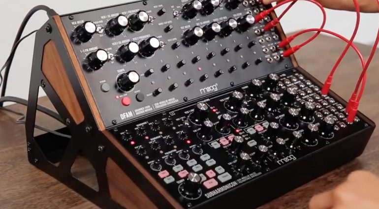 Moog Subharmonicon semi-modularer Synthesizer kommt – neues Video online!