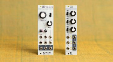Mutable Instruments Ripples und Shades 2020