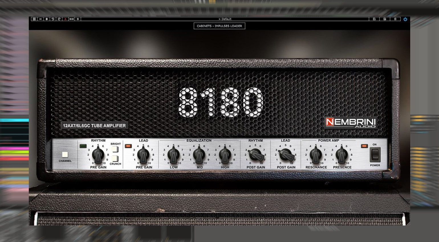 Nembrini Audio veröffentlicht 8180 Monster Tube Guitar Amplifier