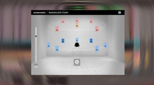 Binauralizer Studio: so einfach gelangt der Surround Mix in den Kopfhörer