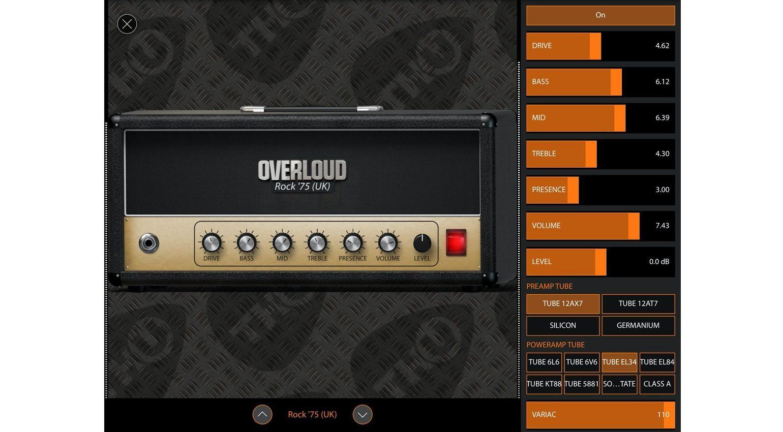 Overloud TH-U iOS 3