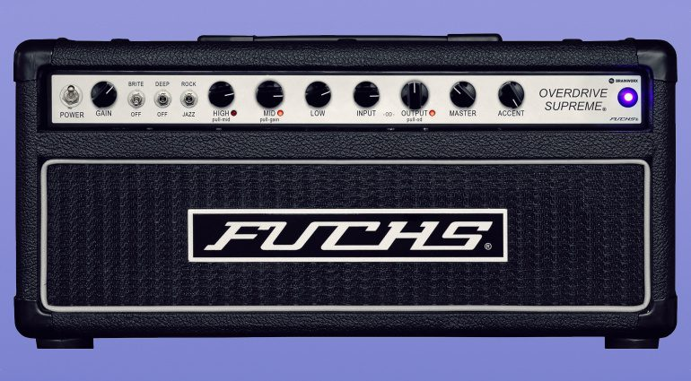 Plugin Alliance Fuchs Overdrive Supreme 50