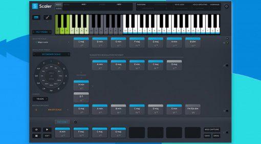 Plugin Boutique Scaler 2: komponieren mit den richtigen Akkorden leicht gemacht!