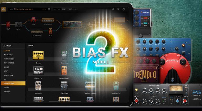 Positive Grid veröffentlicht neue BIAS FX 2 Mobile App: Noch mehr Power für unterwegs!