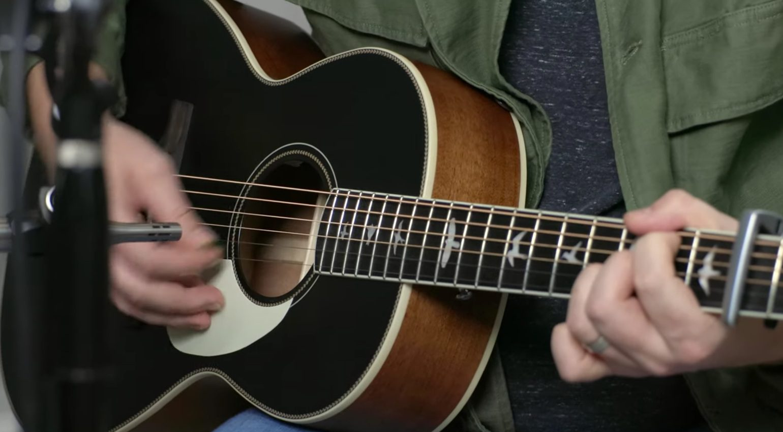 PRS Parlor Akustik Gitarre Leak 1