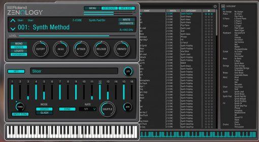 Roland veröffentlicht ZENOLOGY Plug-in und erweitert die Cloud