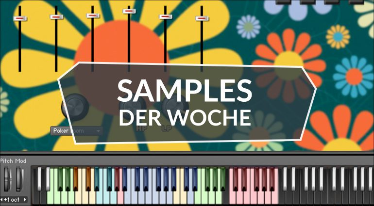 Samples der Woche: Magic 70s Drum Crew, Paranormal Atmospheres, Toy Piano