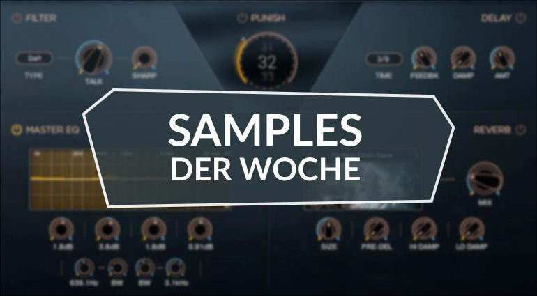 Samples der Woche: MPC3000 from Mars, Acoustic Isolation, Mosaic Bass,Akemie´s Taiko