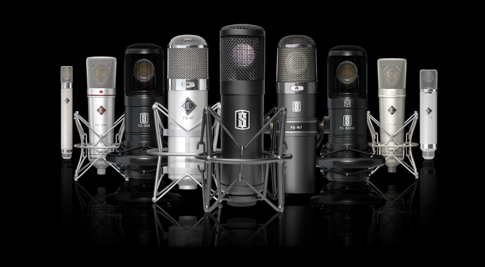 Slate Digital VMS Microphone Collection