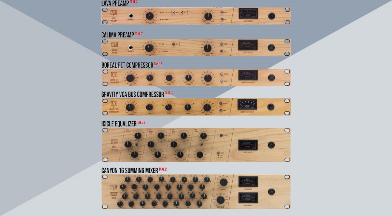 Preamps, Kompressoren und Mixer von Tierra Audio