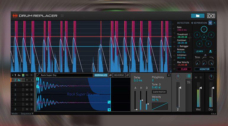 UVI Drum Replacer: Schlagzeug-Sounds austauschen mit künstlicher Intelligenz
