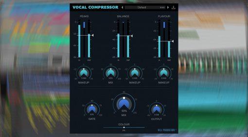 W.A. Production veröffentlicht Vocal Compressor für 8 Euro