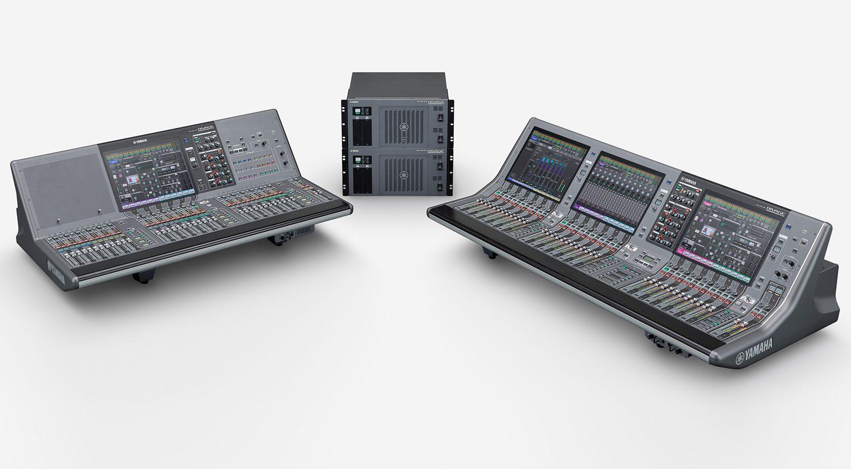 Yamaha RIVAGE PM3 und PM5