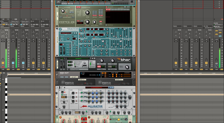 Angecheckt: Reason Studios Reason Rack als Plug-in in meiner DAW