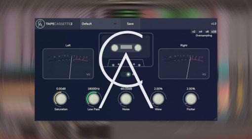 Kostenlos: Caelum Audio verschenkt Tape Cassette 2 für macOS, Windows und iOS