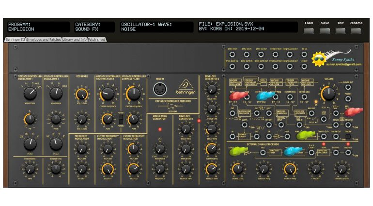 Ctrlr Patch Saver Behringer K-2