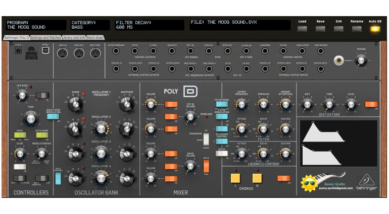 Ctrlr Patch Saver Behringer Poly D